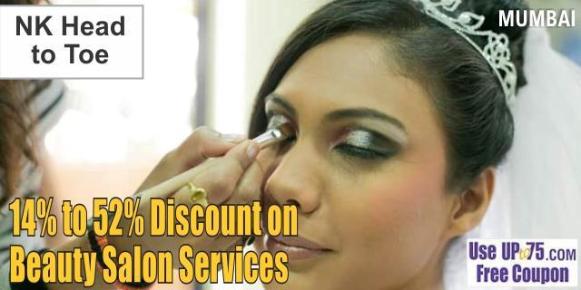 NK Head to Toe Beauty Salon offers India