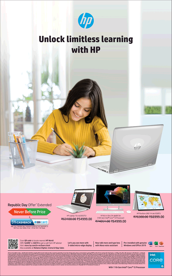 HP India offers India