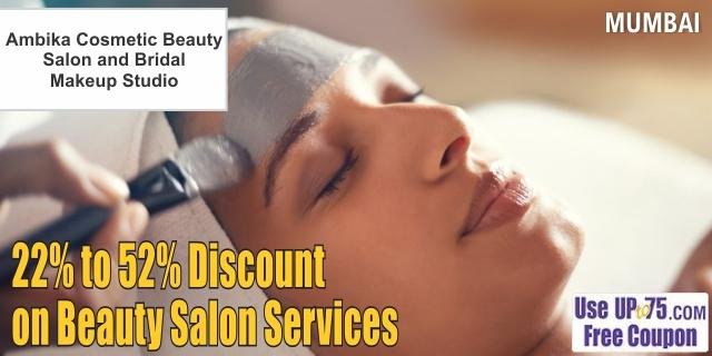 Ambika Cosmetic Beauty Salon and Bridal Makeup offers India