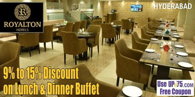 Abids Bistro Restaurant at Royalton Hotel offers India
