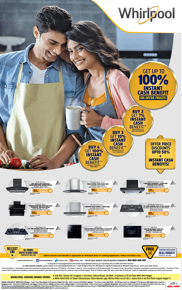 Whirlpool offers India