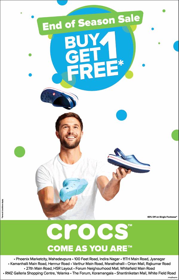 Crocs offers India