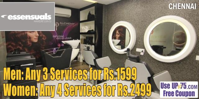 TONI & GUY Essensuals offers India