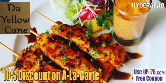 Da Yellow Cane offers India