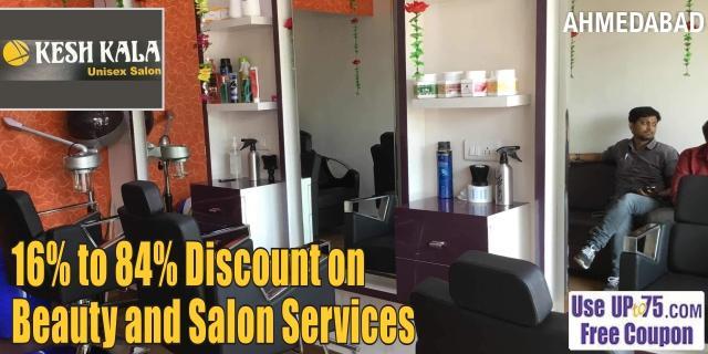 Kesh Kala Unisex Salon offers India