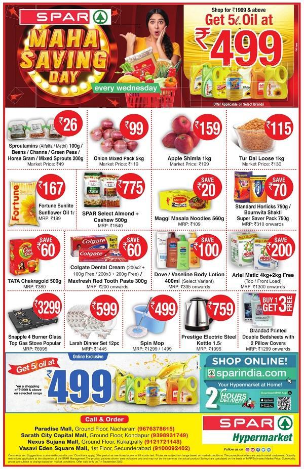 Spar Hypermarket offers India