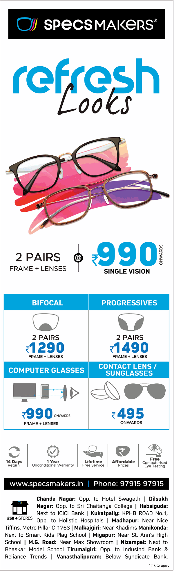 Specsmakers offers India