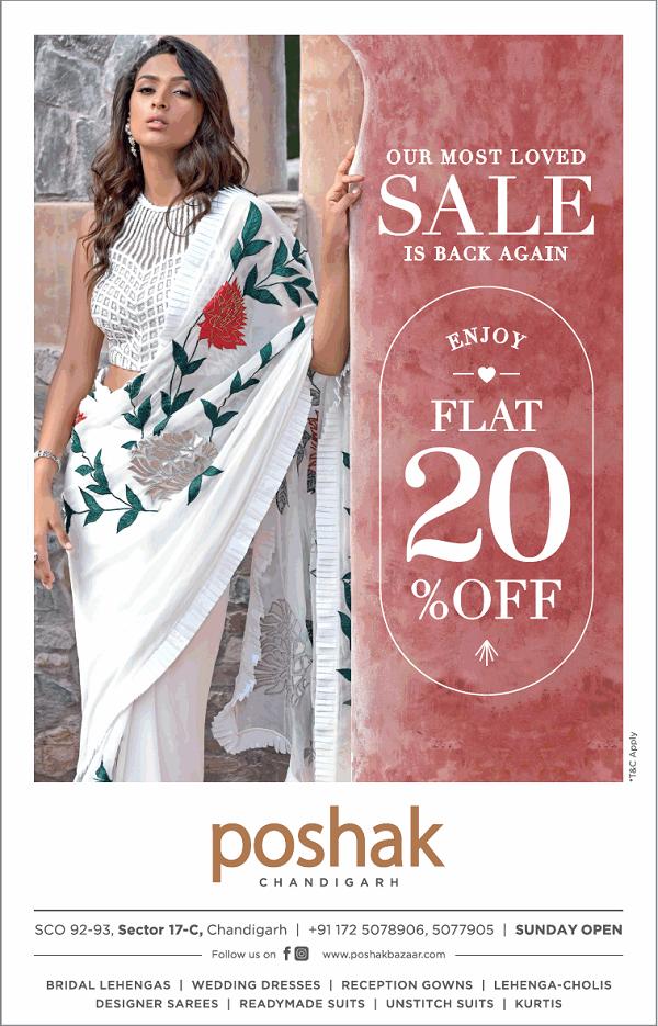 Poshak offers India