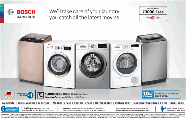 Bosch offers India