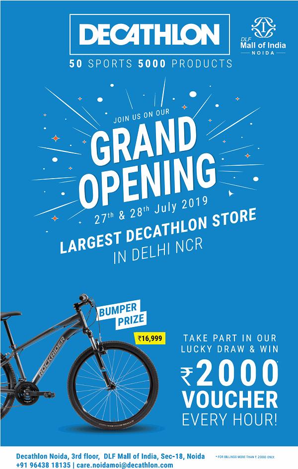 Decathlon offers India