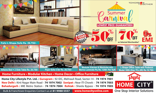 Home City offers India