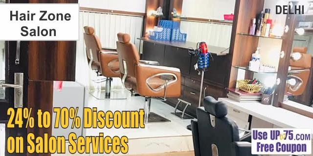 Hair Zone Salon offers India