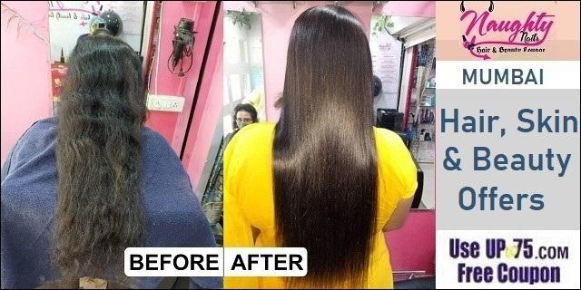 Naughty Nails Hair and Beauty Lounge offers India