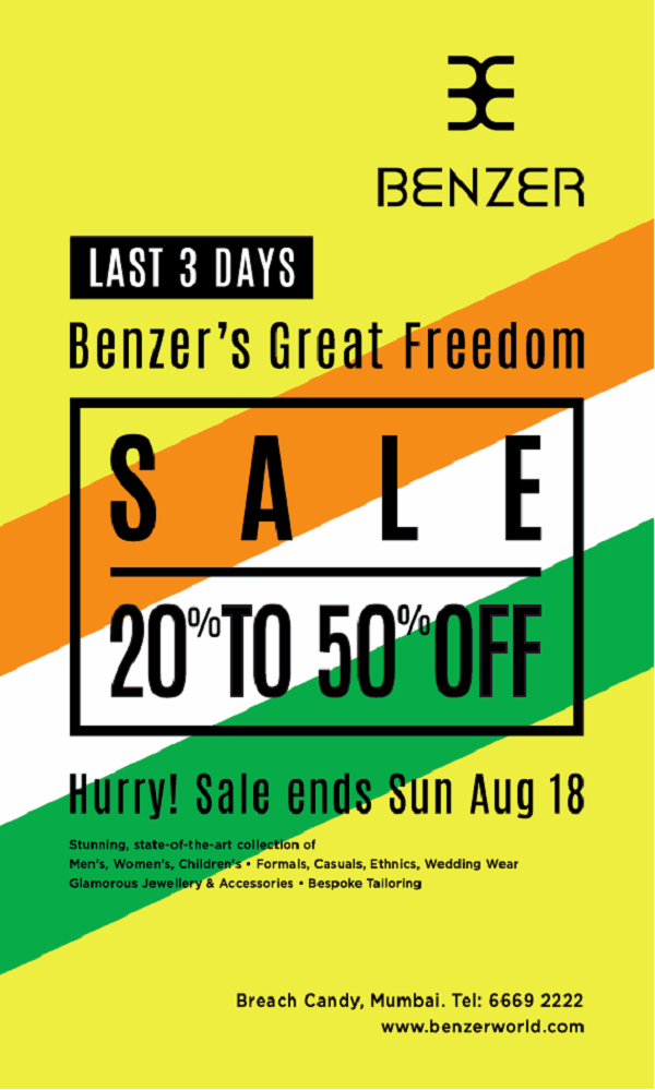 Benzer offers India