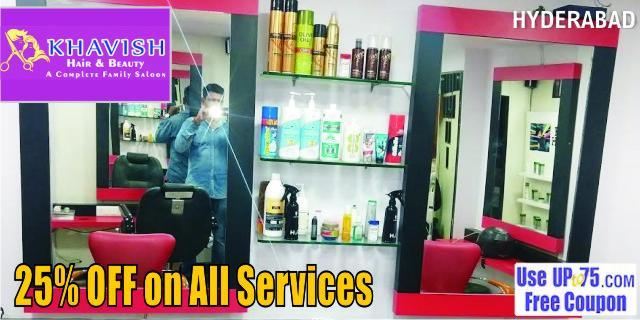 Khavish Hair and Beauty offers India