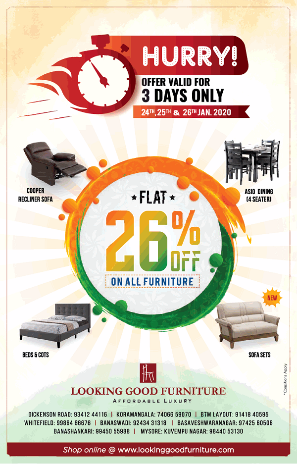 Looking Good Furniture offers India