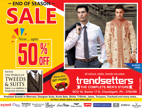 Trendsetters offers India