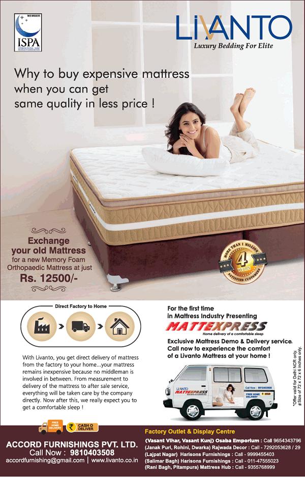 Livanto offers India