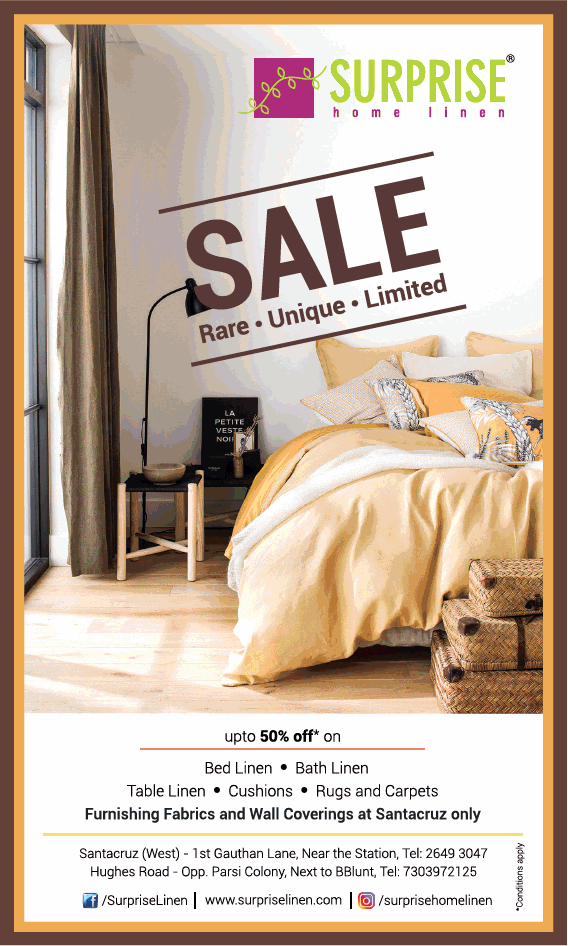 Surprise Home Linen offers India