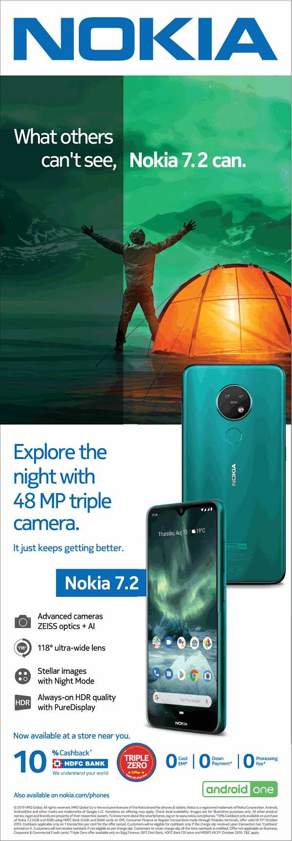 Nokia offers India