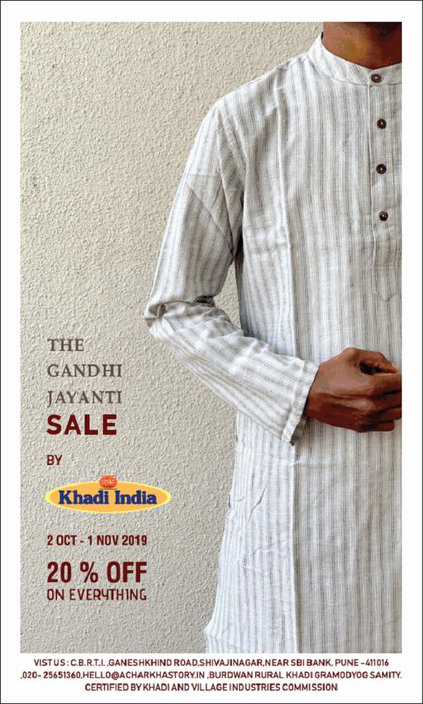 Khadi India offers India