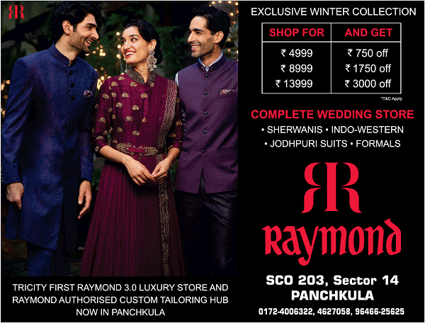 The Raymond Shop offers India