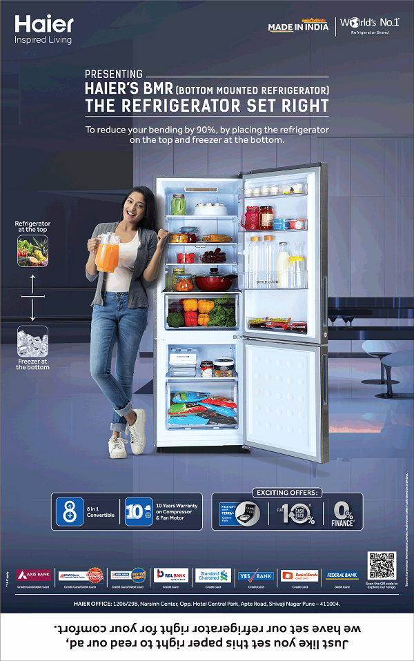 Haier offers India