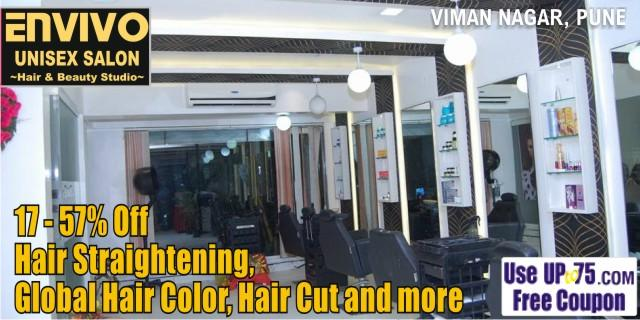 Envivo Unisex Salon offers India