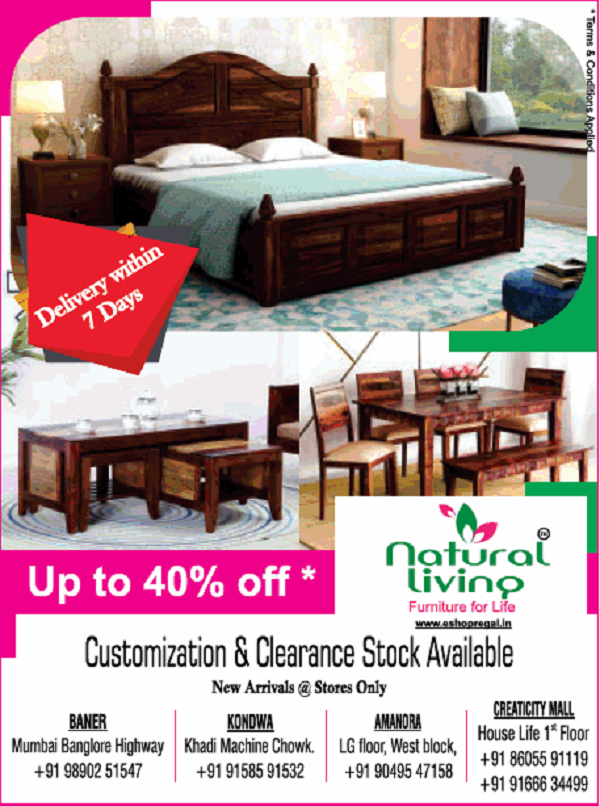 Natural Living offers India