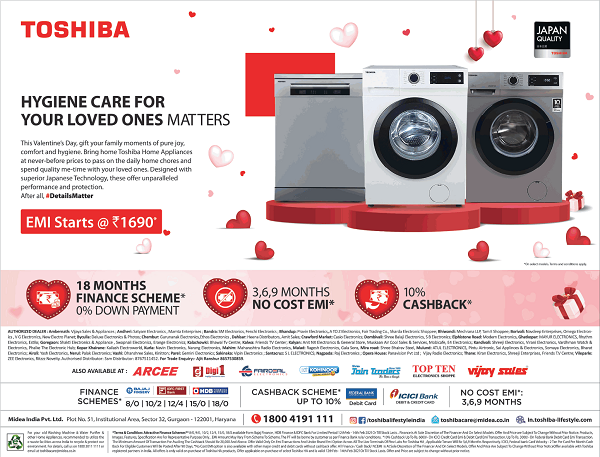 Toshiba offers India