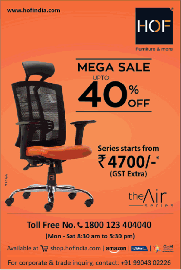 HOF offers India