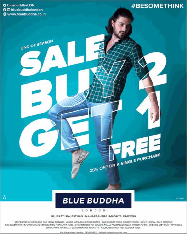 Blue Buddha offers India