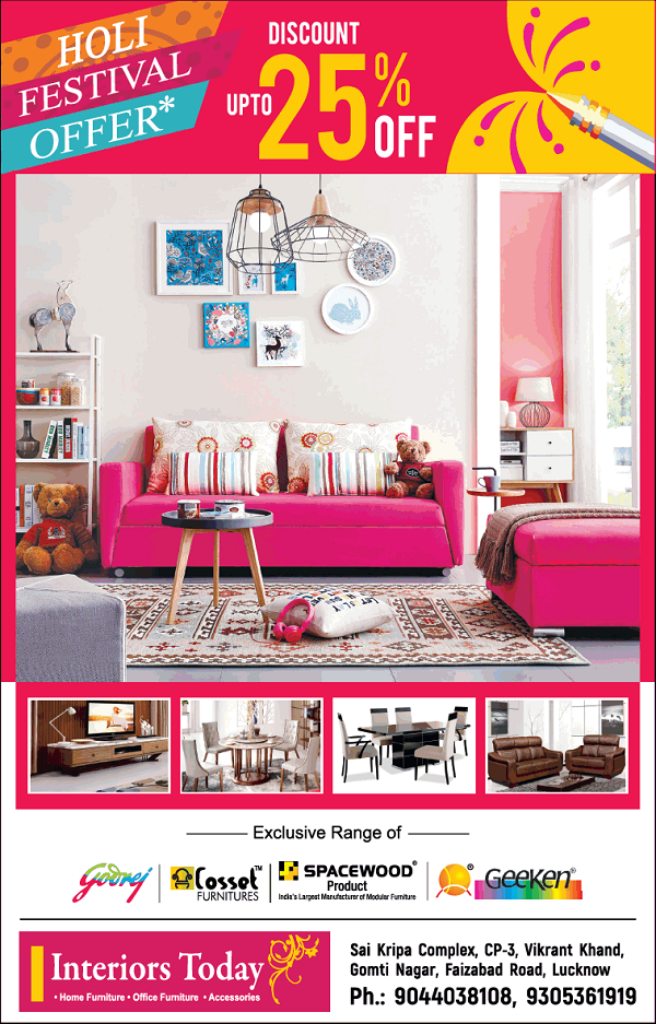 Interiors Today offers India