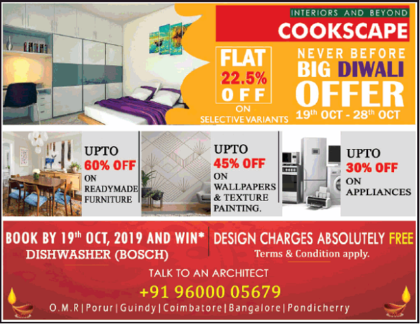 Cookscape offers India
