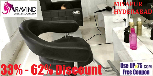 Aravind Unisex Saloon and Spa offers India