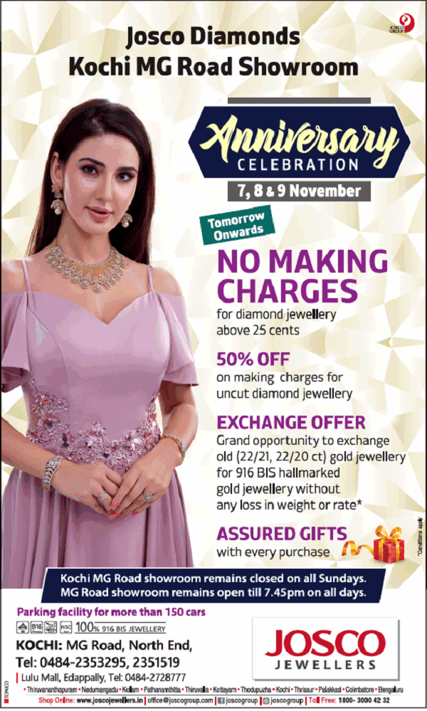 Josco Jewellers offers India