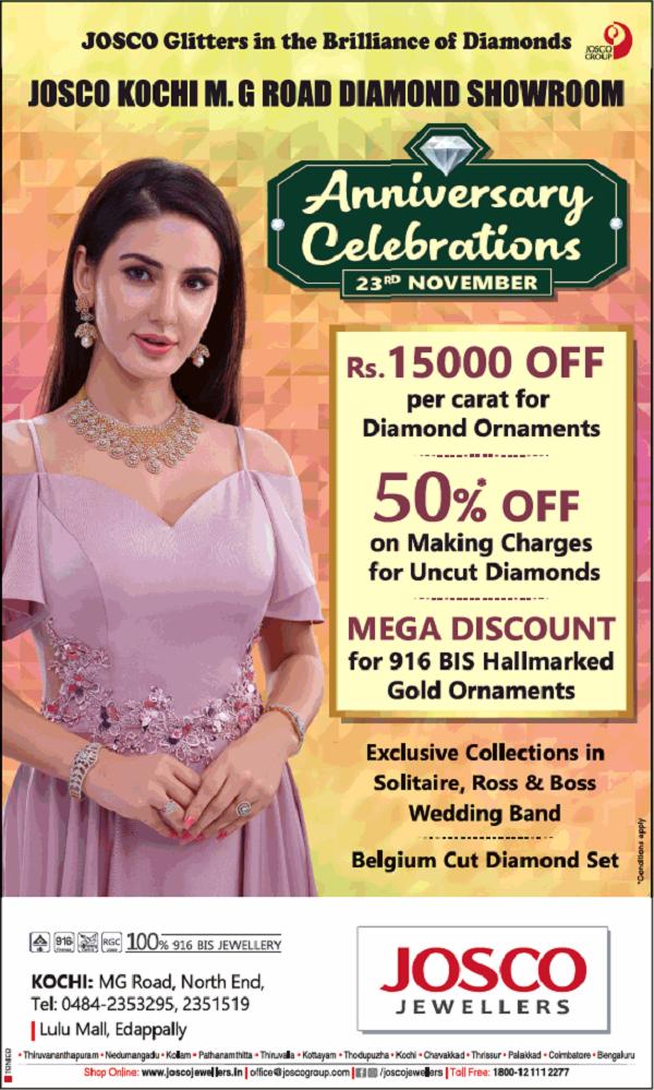 Josco Jewellers offers India