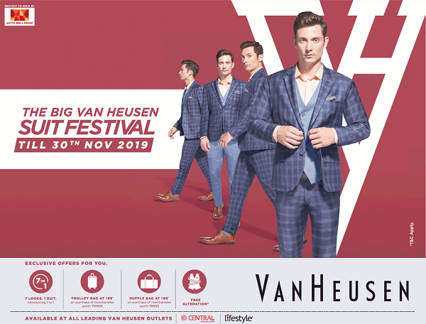 Van Heusen offers India