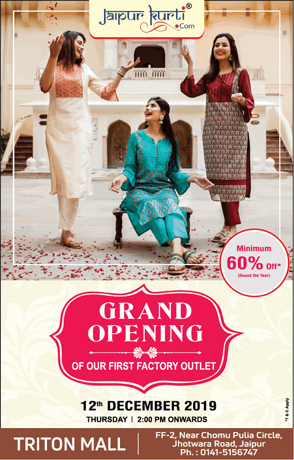 Jaipur Kurti offers India