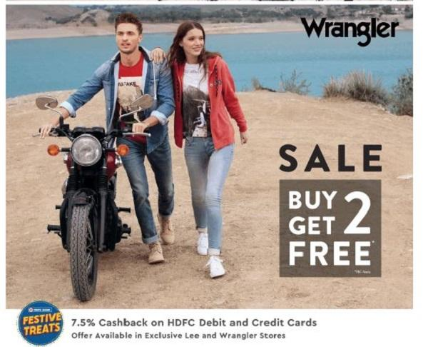 Wrangler offers India