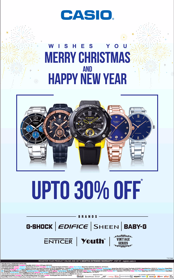 Casio offers India