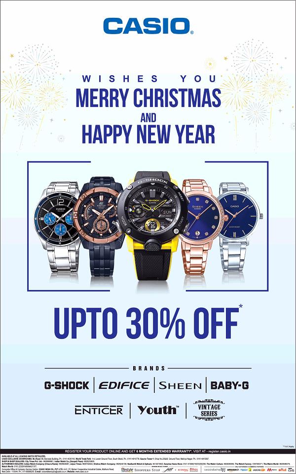 Casio offers India