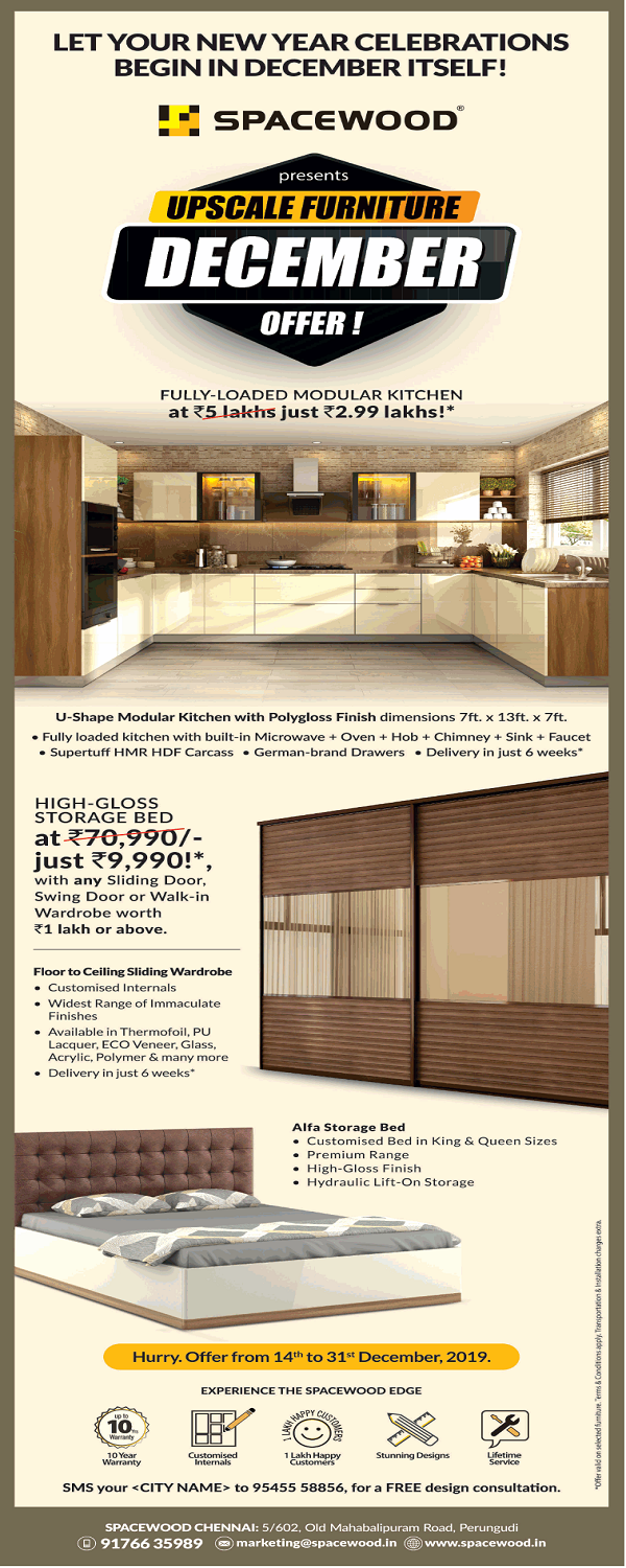 SpaceWood offers India
