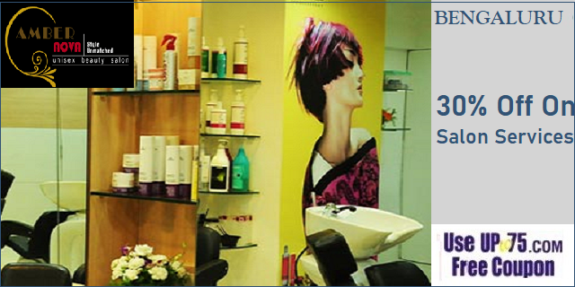 Amber Nova Unisex Spa and Salon offers India