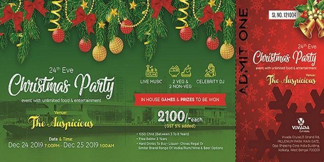 Cruises Over Christmas 2021 Christmas 2020 Vivada Cruises Kolkata Tickets Prices Rates Offers 2021