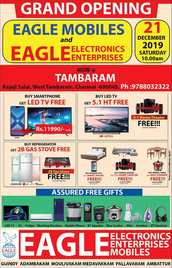 Eagle Electronics offers India