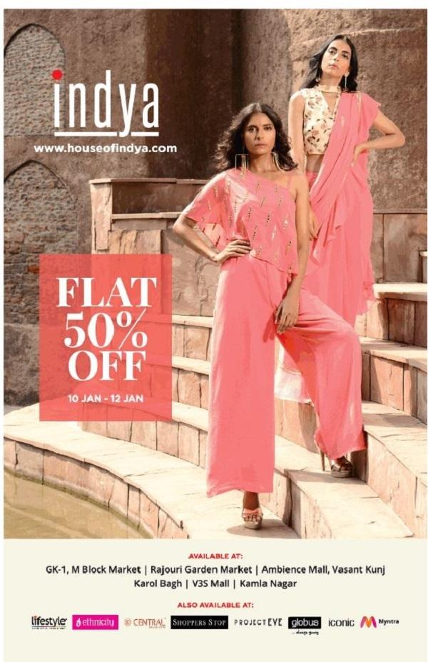 Indya offers India