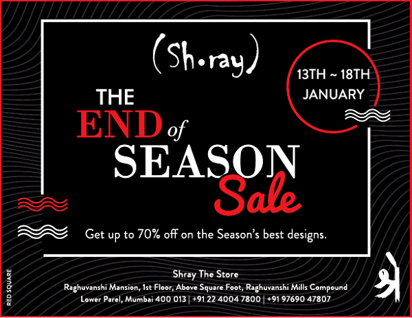 Shray offers India