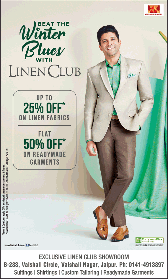 Linen Club offers India
