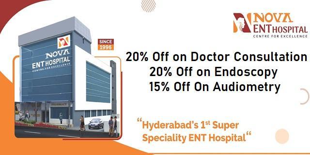 NOVA ENT Hospital offers India